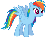 Vector - Rainbow Dash