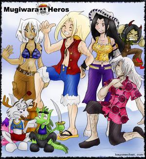 Mugiwara Heros by I-Heart-Link