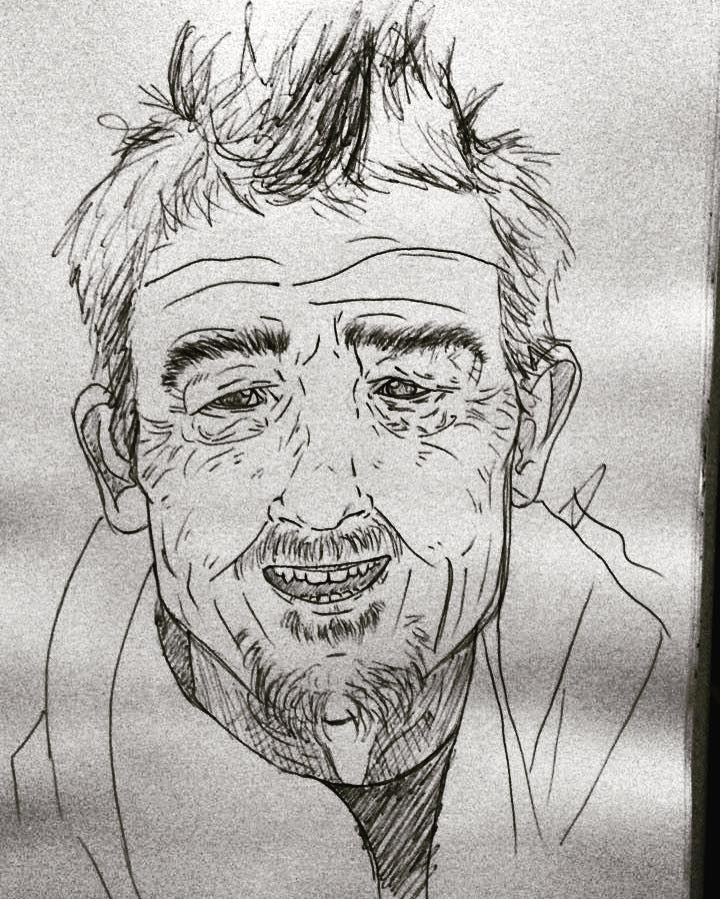 John Hurt by firefoxessmoon