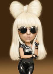 Lady la Gaga, Intuos4 by brooks28