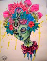 Corona de flores by loto7714