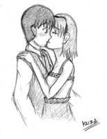 Surprise Kiss by KAIZA-C