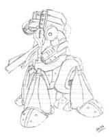 CyberSoul - CS-188 Behemoth (Old Concept) by KAIZA-C