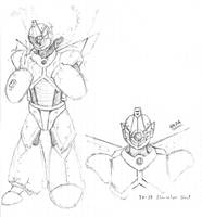 CyberSoul - TX-38 (Old Concept) by KAIZA-C