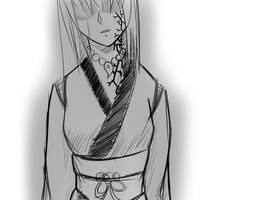 Tsukuyomi - Sorrow by KAIZA-C