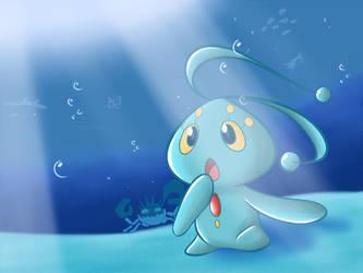 Pokemon - Manaphy, Prince of the Sea by KAIZA-C