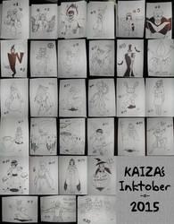 Inktober 2015 by KAIZA-C