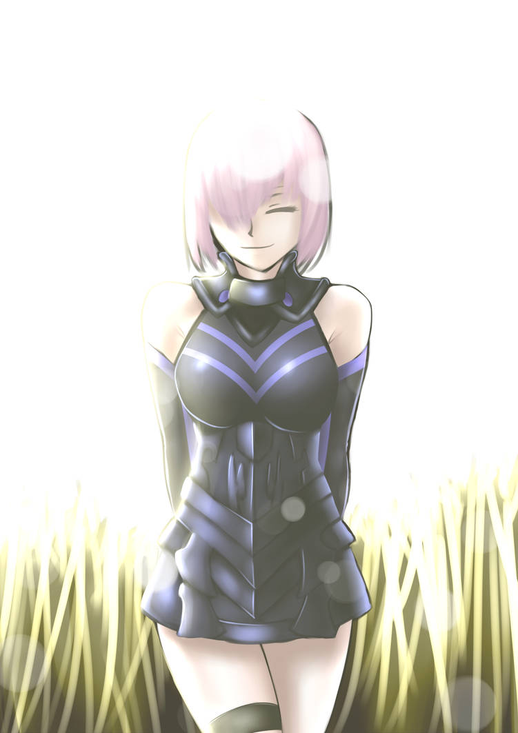 Fate Grand Order - Mashu Kyrielite by KAIZA-C