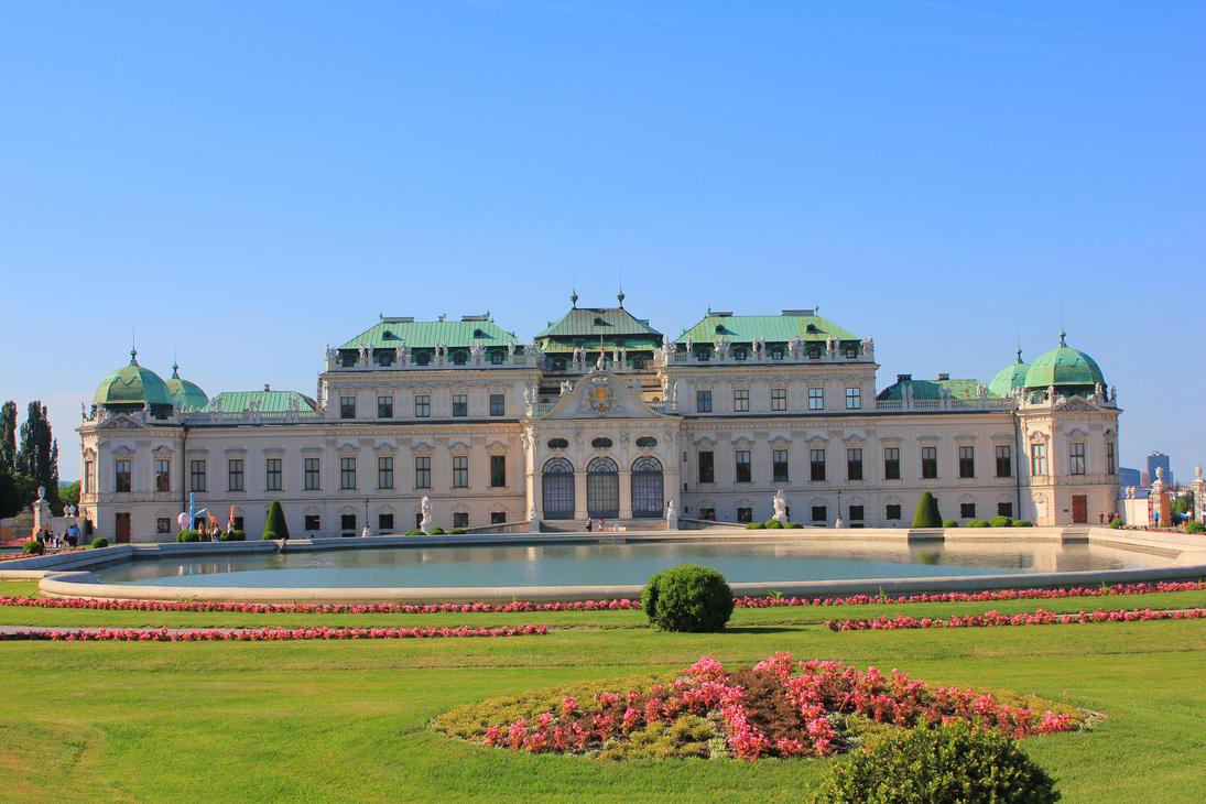 Belvedere Palace in Wien by wolfanger17