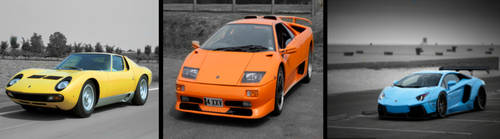 Lamborghini's of the ages by Riddic12