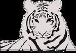 2 tone inkscape tiger
