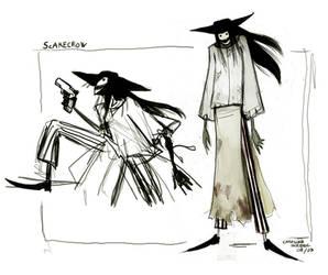 Scarecrow - Sketch Concept
