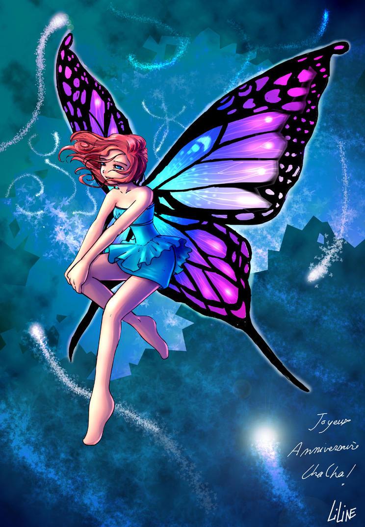Anime Butterfly Fairies