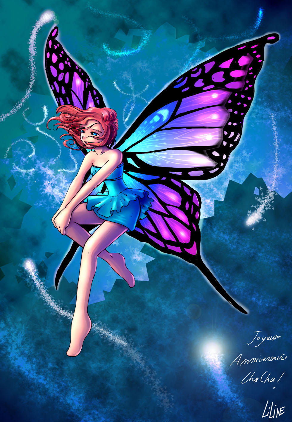 A fairy by liline on DeviantArt