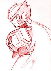 Sketche of Zero -21XX- by liline