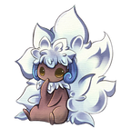 Shiny Whimsicott animation
