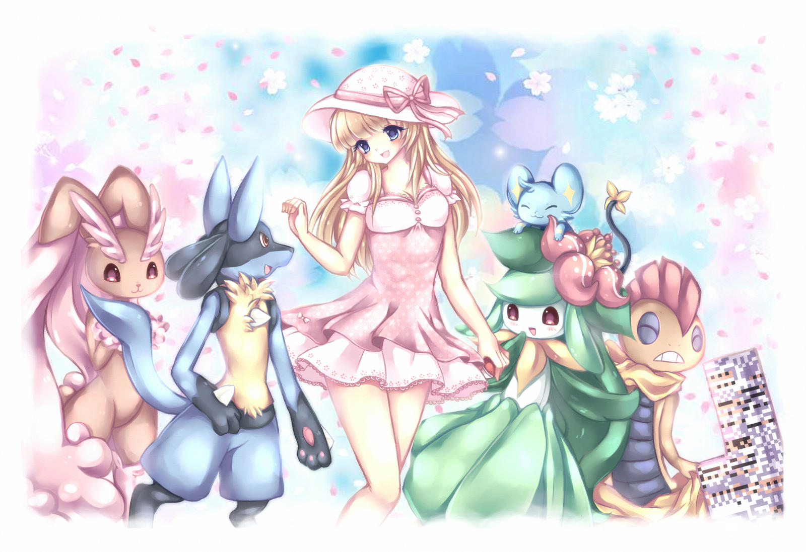 + My Pokemon Team + by Midna01