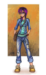 OC Pony Girls -17 by Coke-brother