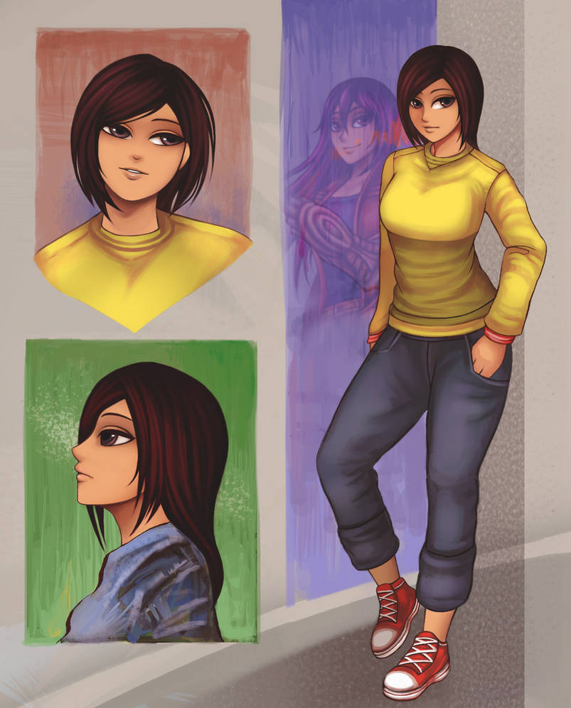 Story ending Character design-1