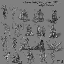 Draw Everything June 2019 - Compilation