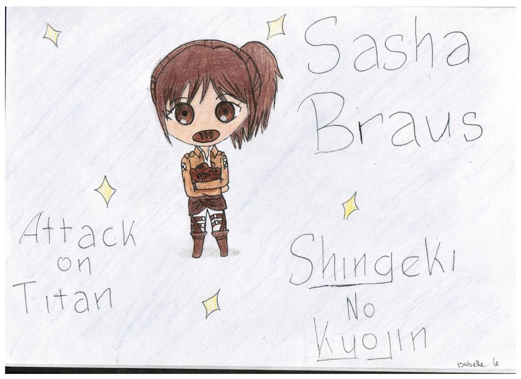 Sasha Braus - Snk/AoT - Chibi version by KatsuAiki