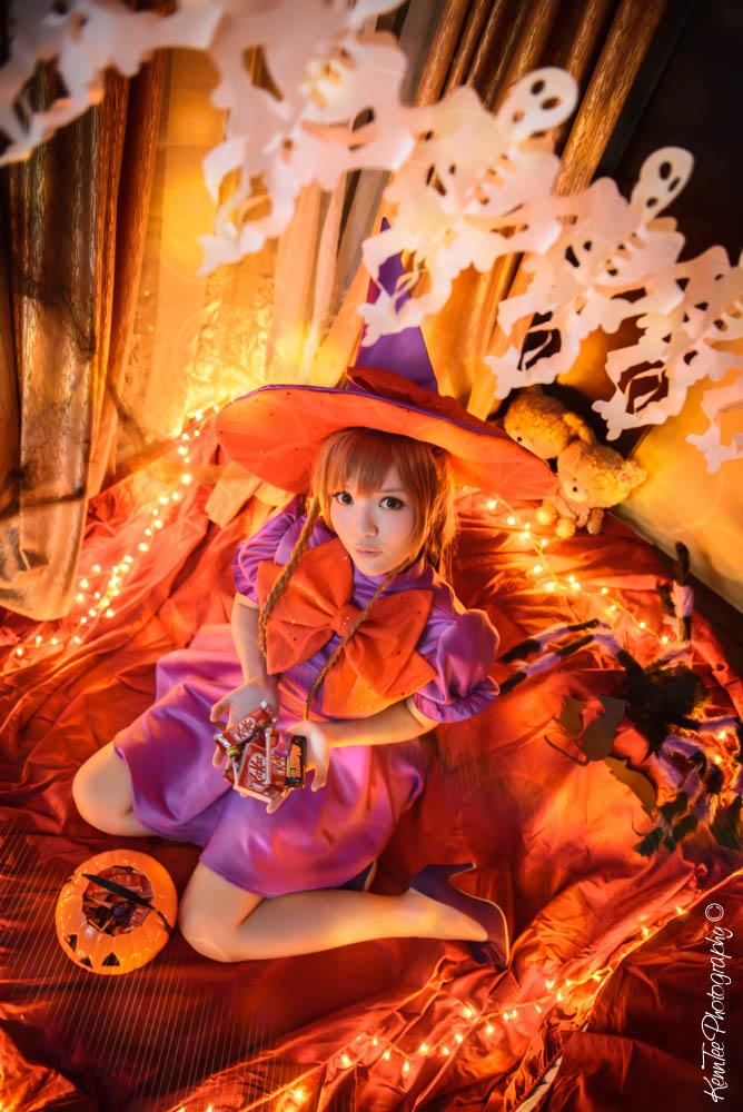 Mirai Suenaga Halloween ver. by kenntee