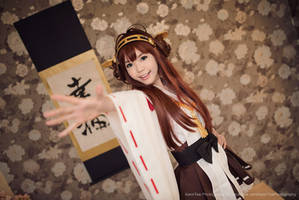 Kancolle: Kantai Collection Kongou Class 02 by kenntee