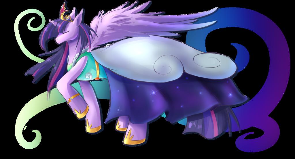 Alicorn Sparkle by MystykNess