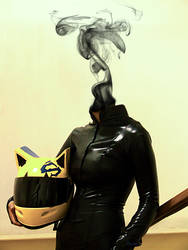 Celty's head by DianeZyrix