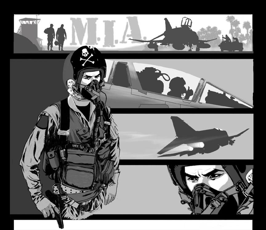 Pilot Mia by batfish73