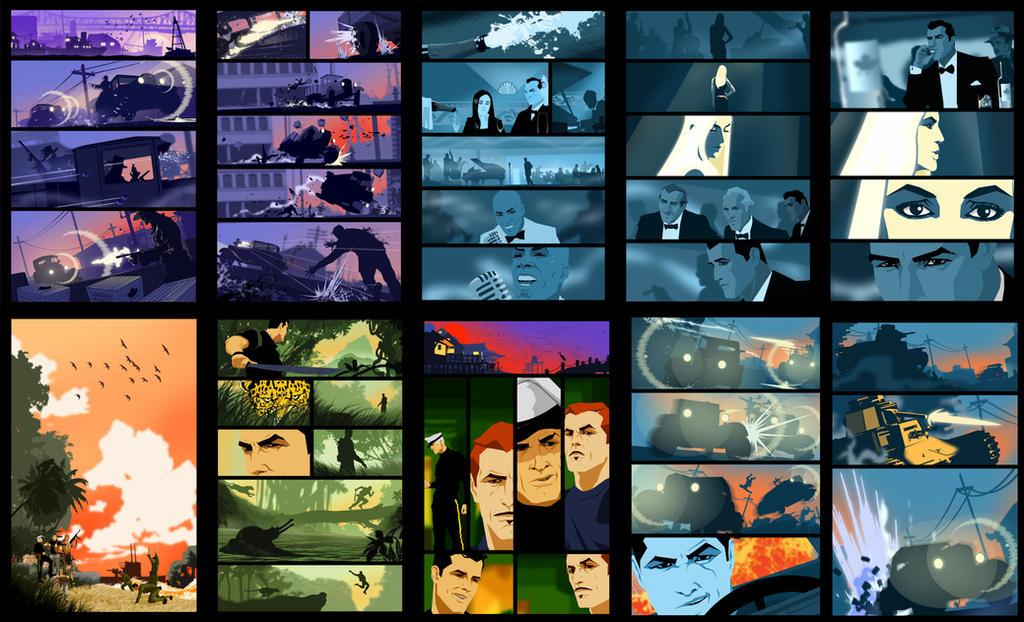 Mathew Reynolds Page samples by batfish73