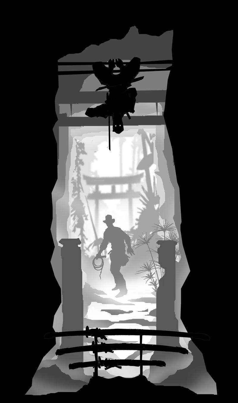 Indiana Jones ninja by batfish73