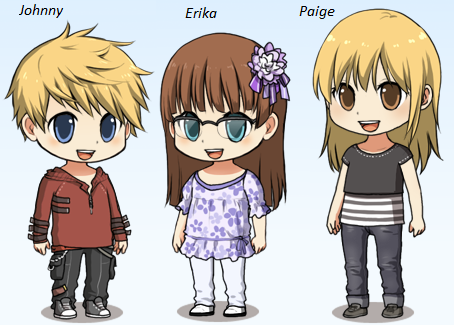 Updated 5 - Johnny, Erika and Paige by 3933911