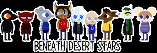 Beneath Desert Stars - Characters by xZethanyx