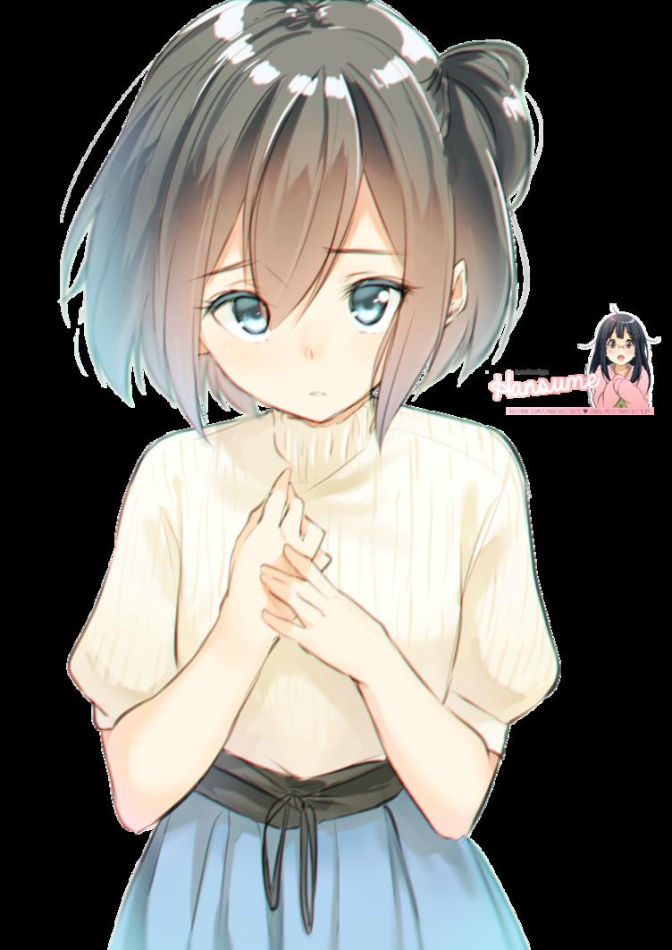 Sad Anime Girl Render By Nightcore Lounge C4 On Deviantart