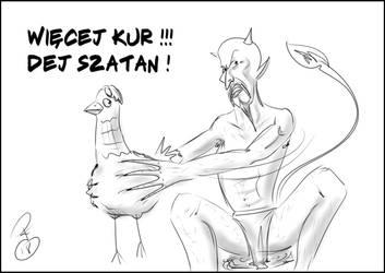 Kur dej Szatan by KudlatyPeter