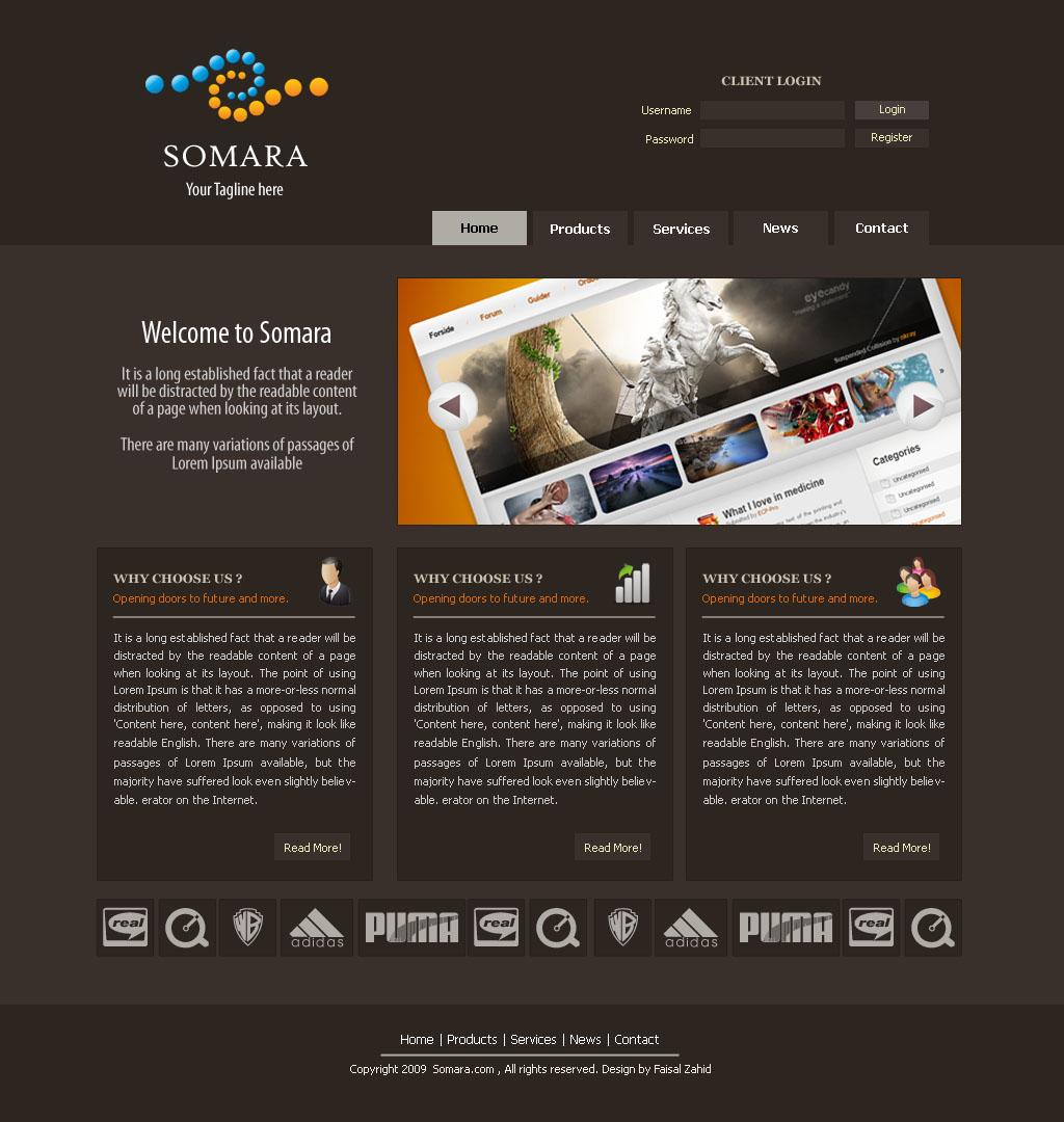 Somara-Webdesign by fais3000