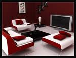 Clean Room-Red Colour Scheme