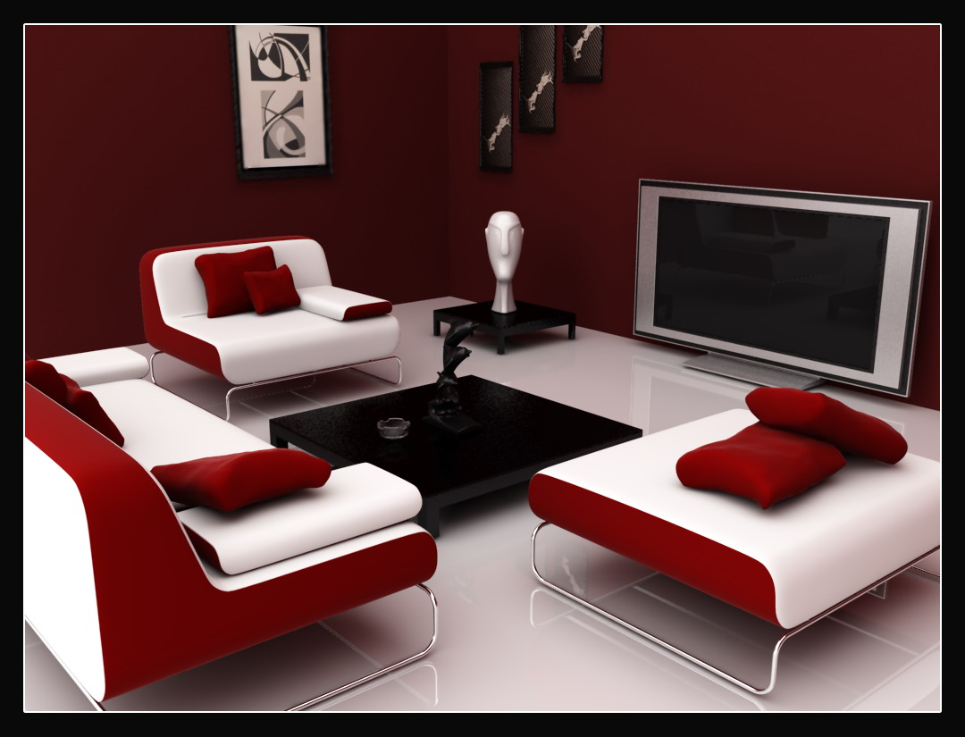Clean Room-Red Colour Scheme