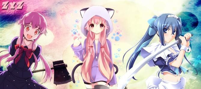 Portada anime kawaii para facebook y twitter by Kazumazxz