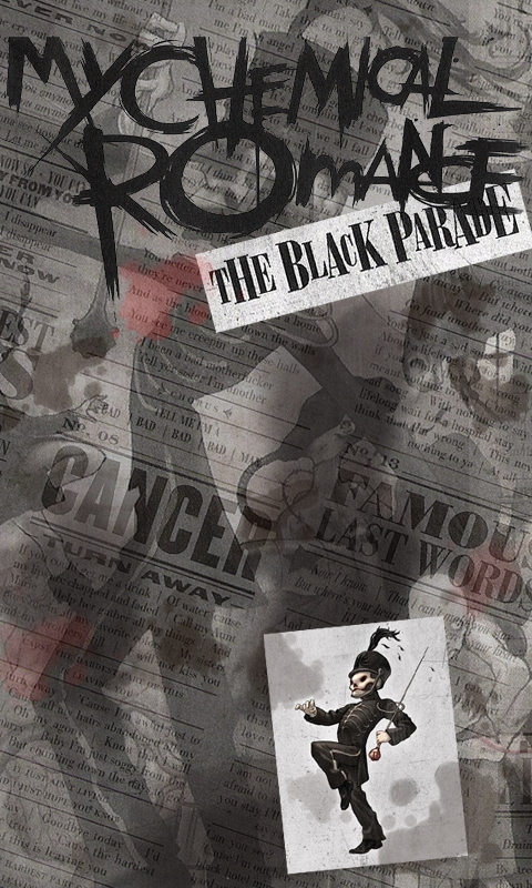 The Black Parade Phone Wallpaper By Treeprincess