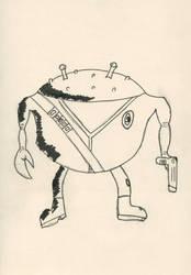 Crabby Jack- Strontium Dog