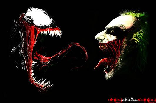 'The Monster vs. The Clown' Venom vs. Joker