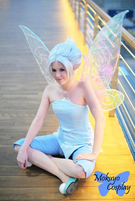 Periwinkle: winter fairy by Mokuyo