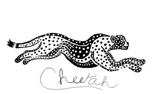 Cheetah Tribal by Fiorre