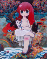 Non-existent Yurufuwa Bodhisattva by suzuki-suzukazu