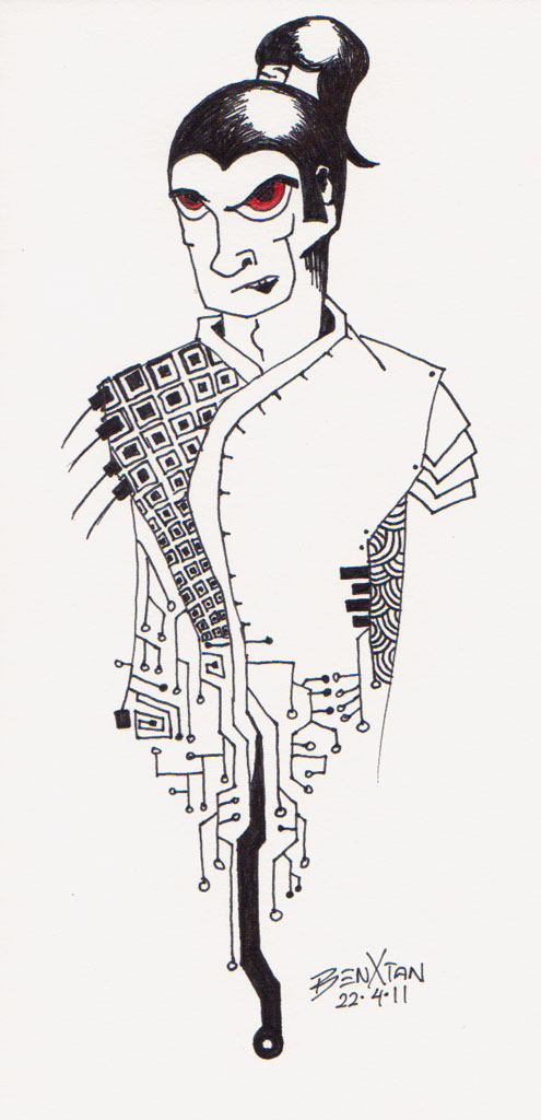 Digital Samurai by svenisnumb