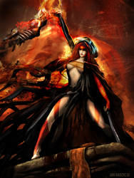 GOT Red Witch by atma33