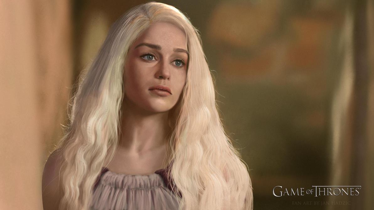 Daenerys study by atma33