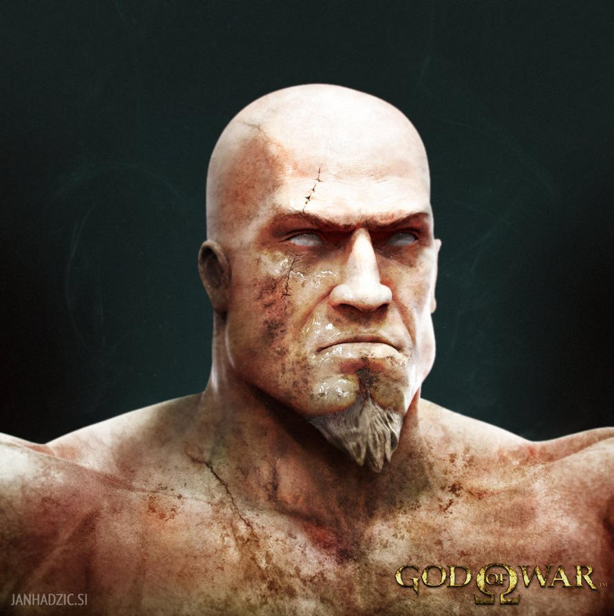 Kratos by atma33